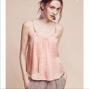 Floreat Pink Shimmer Tank Top